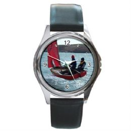 Personalised Photo Watch Round Sliver Style